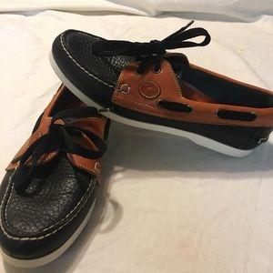 Dooney & Bourke leather boat loafers